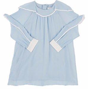 Chloé Silk Chiffon Shift Dress   Barneys Warehouse