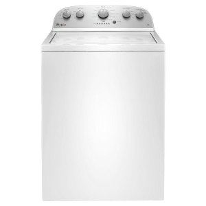Whirlpool 3.5 cu. ft. High-Efficiency Top Load Washer in White-WTW4816FW - The Home Depot