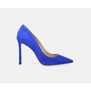 Jimmy Choo Romy 100 Suede Pointy Toe Pump Pumps | ELEVTD Free Shipping & Returns