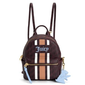 SOLSTICE SPORTY STRIPE LEATHER MINI BACKPACK