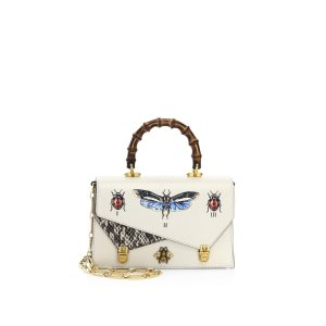 Linea P Bamboo Top Handle Bag by Gucci