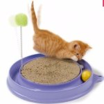 Catit Play'n Scratch Cat Toy Orange