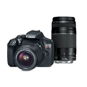 Canon EOS Rebel T6 EF-S 18-55 with EF 75-300mm f/4-5.6 III Refurbished | Canon Online Store