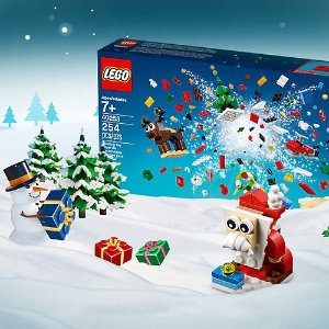 Free 24-in-1 Holiday Countdown SetWith $99 Purchase @ LEGO®