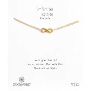 Infinite Love Bracelet, Gold Dipped | Dogeared