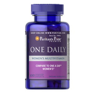One Daily Women's Multivitamin 100 Caplets | Multivitamins Supplements| Puritan's Pride