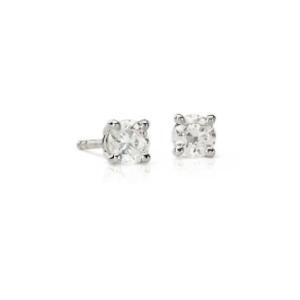 Premier Diamond Stud Earrings in Platinum (1/2 ct. tw.) - F / VS | Blue Nile
