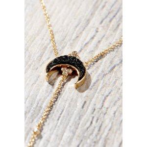 Elizabeth Stone Titania Druzy Y Necklace