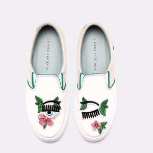 Slip On Floral Sneaker Sneakers