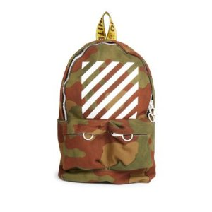 Off-White - Diagonal Camouflage Backpack