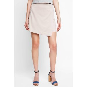 Abbeline Solid Wrap Mini Skirt   South Moon Under