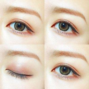 眼妆拯救人生别说我眼睛小,我只是没化眼妆
