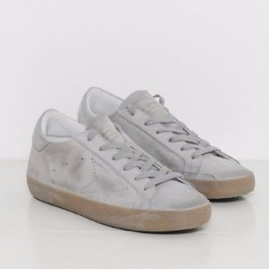 Golden Goose Sneakers Superstar in Ice Nubuck Skate
