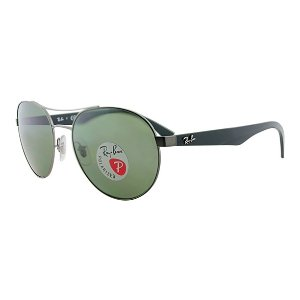 Ray-Ban 3536 Round Polarized Sunglasses