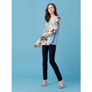 Side Slit blouse | Landing Pages by DVF