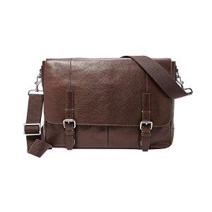 Fossil® Men's Graham Leather Messenger Bag