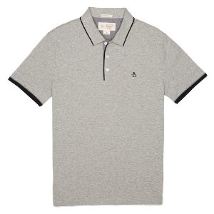 TRI COLOR CONTRAST TRIM POLO