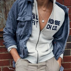 Up to 50% OFF+Extra 25% OFFAbercrombie & Fitch Men's Clothing Sale