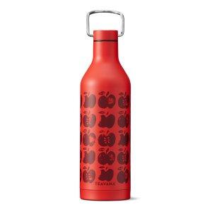 Red Apple Stainless-Steel Bottle