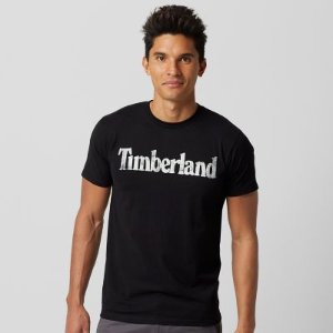 Timberland | Men's Faded Linear Logo T-Shirt