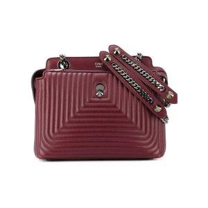 Dot Com Small Leather Handbag
