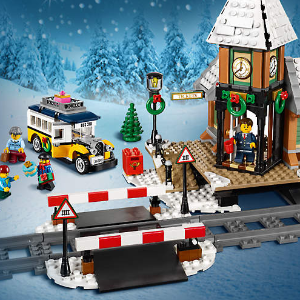 $79.99 + Free GiftWinter Village Station 10259 @ LEGO