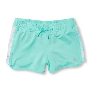 Girls PLACE Sport Pieced Dolphin Shorts | The Children's Place