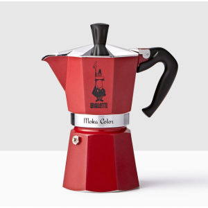 Moka Express Espresso Maker - Red | Starbucks® Store
