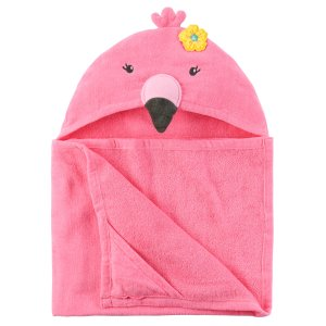 Flamingo Hooded Towel   Carters.com