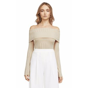 Dove Off-The Shoulder Knit Top