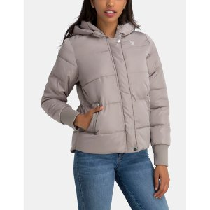 QUILTED HOOD PUFFER