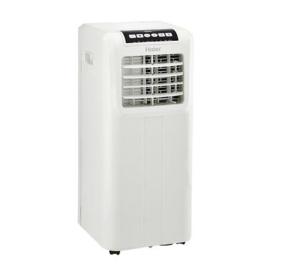 $109.99 免税包邮Haier HPP08XCR-E 8,000 (BTU) 便携式空调(翻新)