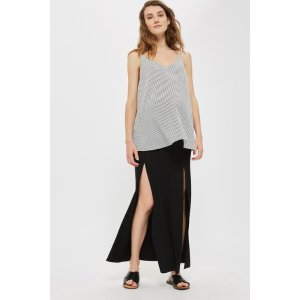 MATERNITY Split Front Maxi - Skirts - Clothing - Topshop USA