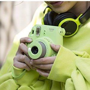 $57Fujifilm Instax Mini 9 Instant Camera - Lime Green