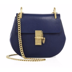 Chlo� - Drew Small Leather Saddle Crossbody Bag - saks.com