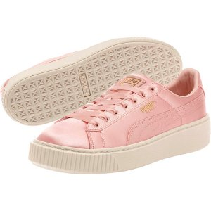 Basket Platform Satin Women's Sneakers, buy it @ www.puma.com
