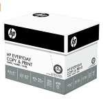 HP Paper, Everyday Copy and Print Poly Wrap, 20lb, 8.5 x 11, Letter, 92 Bright, 2400 Sheets / 6 Ream Case (200010C) Made In The USA