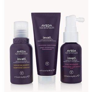 invati™ travel-size 3-step system | Aveda