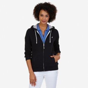 J Class Full-Zip Hoodie - True Black | Nautica