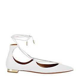 低至4折Aquazzura 绑带凉鞋超值热卖