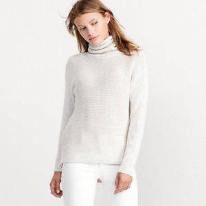 Dolman Funnelneck Sweater - Sweaters � Petite (sizes 2-14) - RalphLauren.com