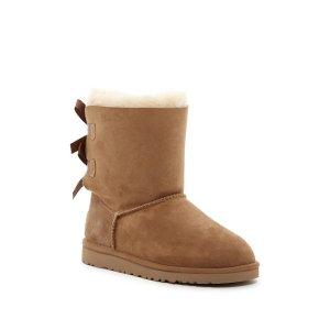Genuine Sheepskin Bailey Bow Classic Boot (Little Kid & Big Kid)