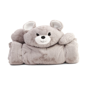 Kids Bear Plush Sleeping Bag - Kids' Room & Baby - T.J.Maxx