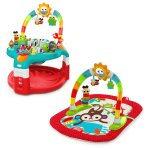 Bright Starts 2 In 1 Silly Sunburst Activity Gym & Saucer