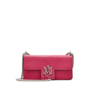 Leather Insignia Clutch - Alexander McQueen | WOMEN | US STYLEBOP.COM
