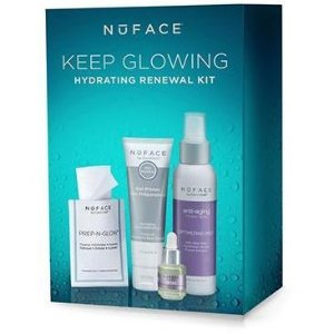 NuFACE Keeping Glowing Hydrating Renewal Kit | askderm.com