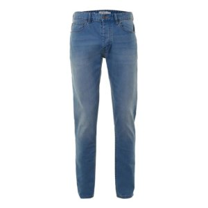 Powder Blue Stretch Slim Jeans
