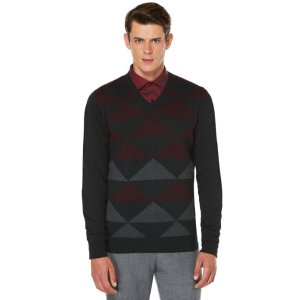 Diamond Colorblock Sweater