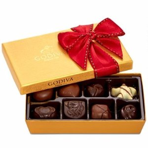 节日巧克力礼盒8粒