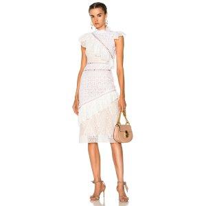 SHOP BY CATEGORY Sea Ruffles Awry Dress